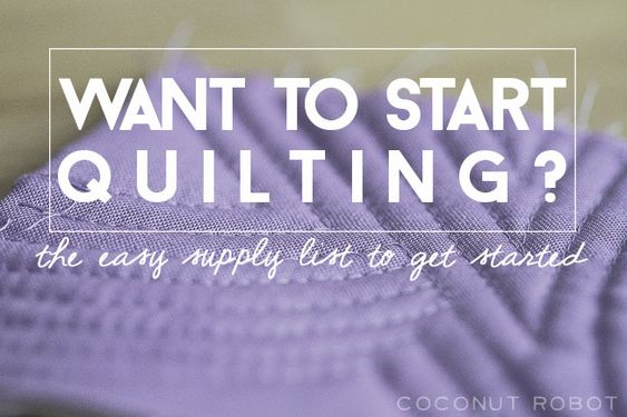 let's start from the very beginning || Quilt 101
