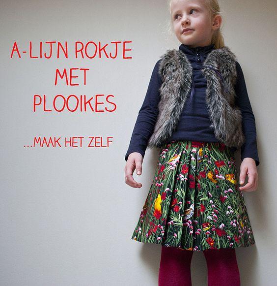A-lijn rokje met plooikes   Flickr - Photo Sharing!