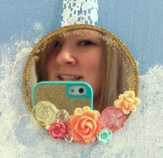 Easy mini fairy mirror