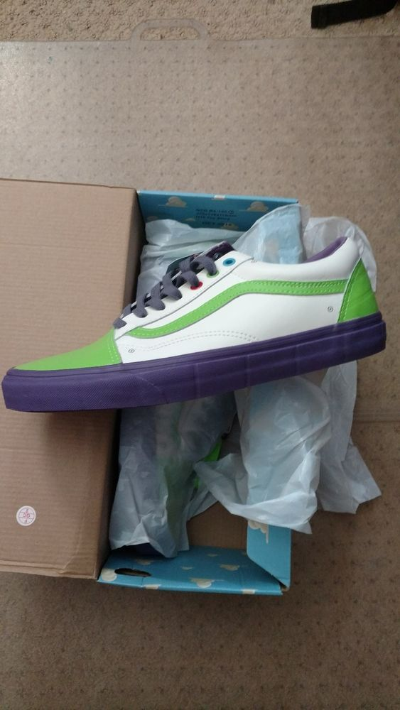 Disney PIXAR Vans Old Skool Toy Story Buzz Lightyear ANDY