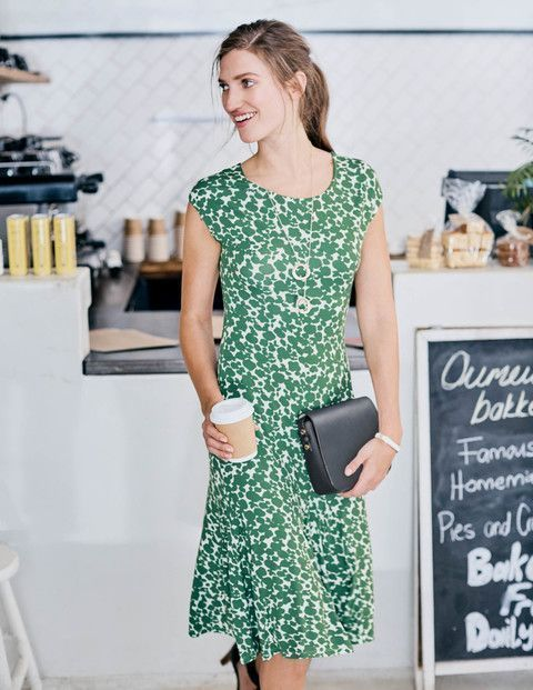 New Boden Avril Jersey Dress Ww267 Jersey Dresses At Boden Uk 8r Fashion Clothing Shoes Access Everyday Dresses Latest Fashion Dresses Professional Dresses