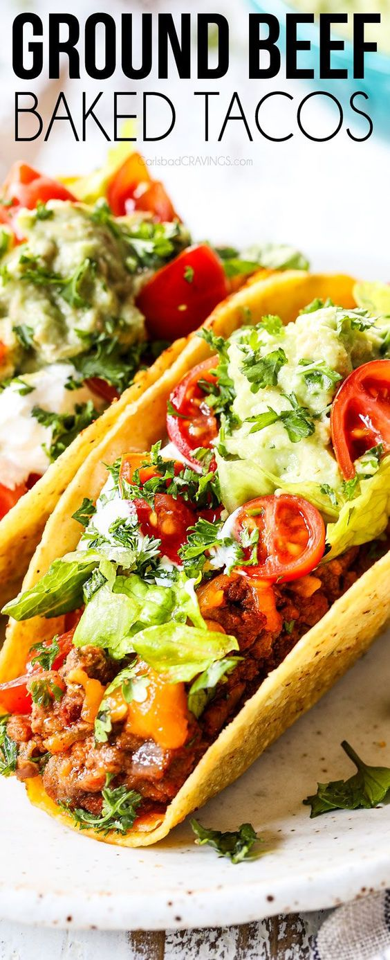 authentic mexican taco recipes with ground beef