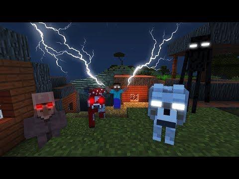 Herobrine Y Su Ejercito Nos Atacan Minecraft Las Entidades Malignas Mas Poderosas Youtube Gadis Animasi Animasi