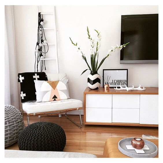 Charcoal, TV unit and Ottomans on Pinterest ~ 204352_Living Room Ideas Kmart