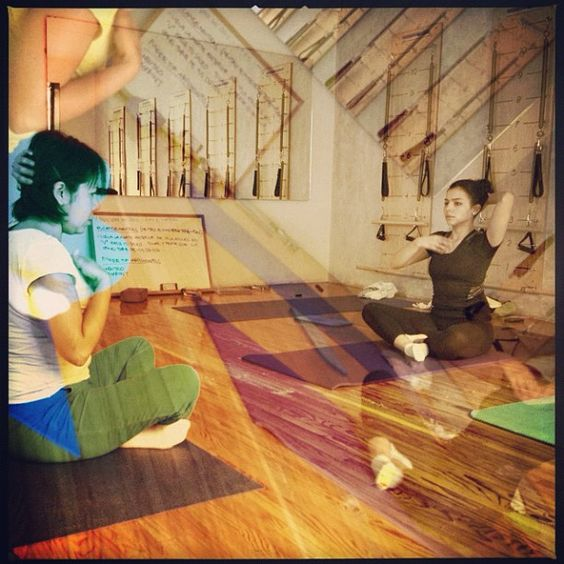 "@inspirahpilates's photo: ""Arlette y Denisse en #FormacionPilates Mat @Balanced_Body México Host Sites ;)"""