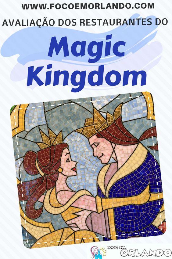 Avaliação dos restaurantes do Magic Kingdom