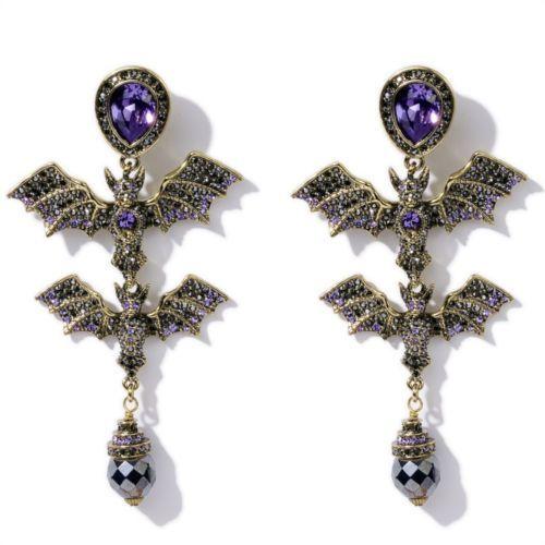 HEIDI-DAUS-Batty-for-You-PIERCED-Earrings
