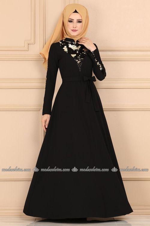Modaselvim Yeni Urunler Tesettur Istanbul Elbise Moda Stilleri Sifon Elbise