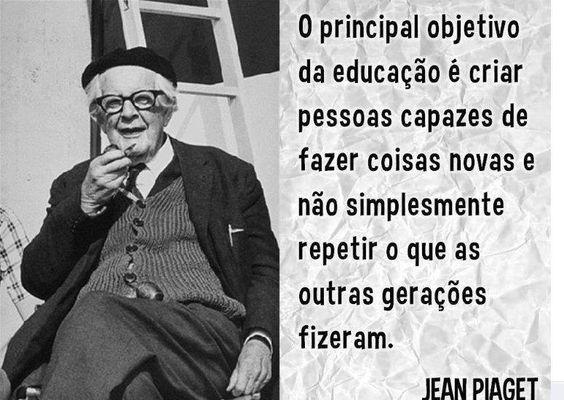 A inovação começa na educação? #Piaget