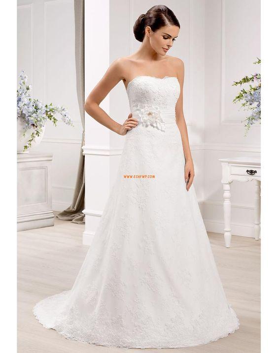 Tyl Elegantní & moderní Empírové Svatební šaty 2014