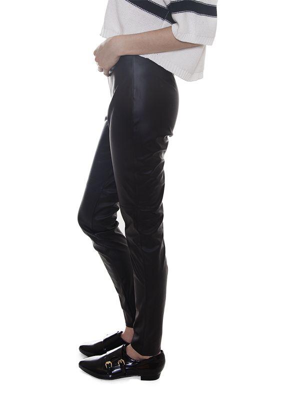 Boyfriend leathers pants