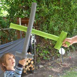 DIY: Safe & Soft Toy #Pirate Swords