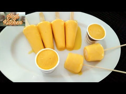 How To Make Mango Kulfi Without Cream Condensed Milk Mango Kulfi Recipe Youtube Kulfi Recipe Mango Kulfi Kulfi Recipe Condensed Milk