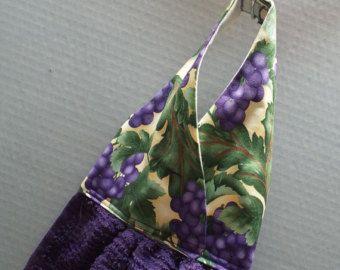 Colgante tela de Girasoles de toalla de por AlwaysALittleBehind