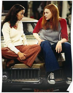 donna and jackie - that 70s show Poster