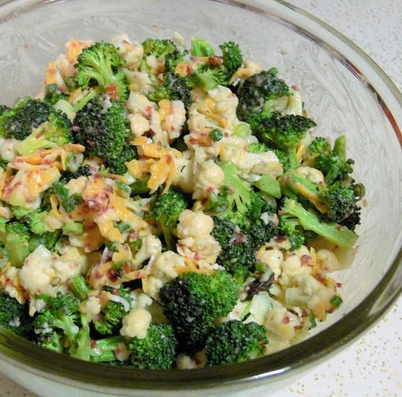 Broccoli cauliflower, Cauliflower salad and Broccoli cauliflower