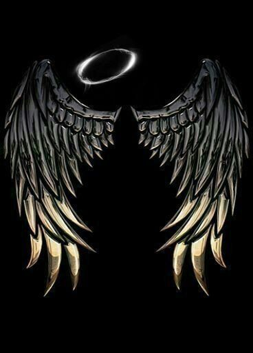 Pin On Anime All Day Black devil wings wallpaper