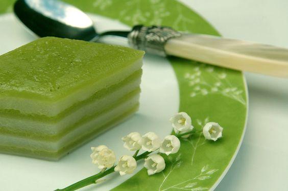 Recette du khanom chan, dessert traditionnel de Thaïlande