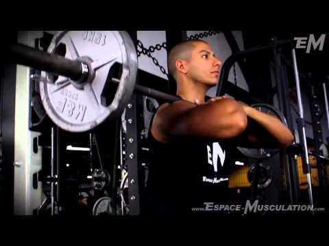 Squat Barre Devant - Exercice de Musculation pour les Jambes #leg #training #workout #exercise #musculation #exercice #cuisse #jambe #crossfit #entrainement #muscu #muscul #espacemusculation #squat