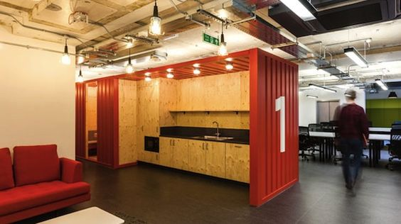 Google Campus, London which aims to attract start-ups.