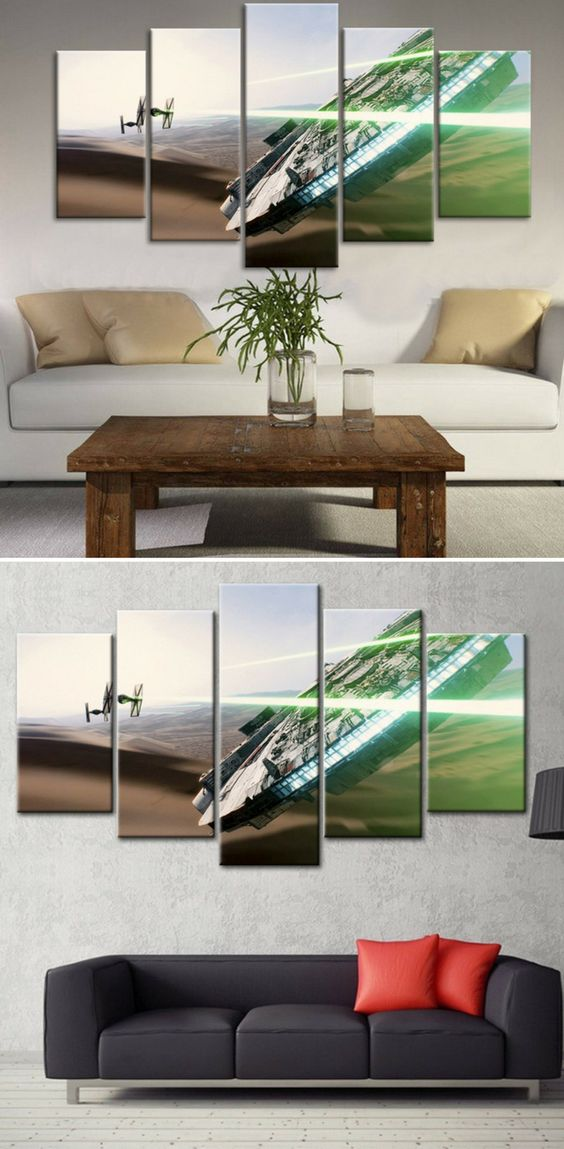 Star Wars Canvas Art, star wars canvas painting, star wars painting