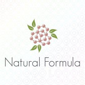 Natural organic formula #logo by dalia
