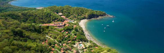 The scenic Papagayo resort seen from above...this is my number one place