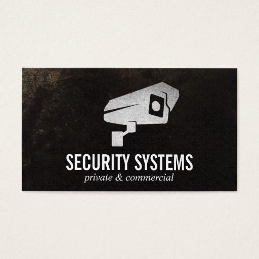Security Camera Business Card Zazzle Com Security Camera Business Cards Company Business Cards