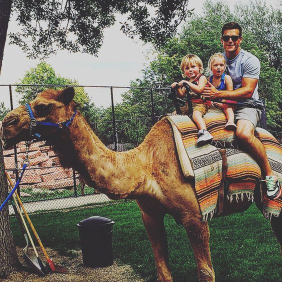 """""""Camel rides at Aubs party!!"""""""