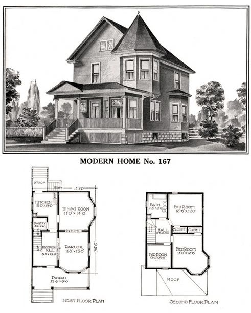 1908-1914 Sears and Roebuck house Model No. 137 | for my mother ...