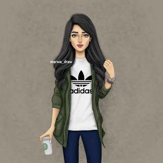 صور بنات كرتون كيوت 2020 Girly M Cute Girl Drawing Cute Girl Wallpaper