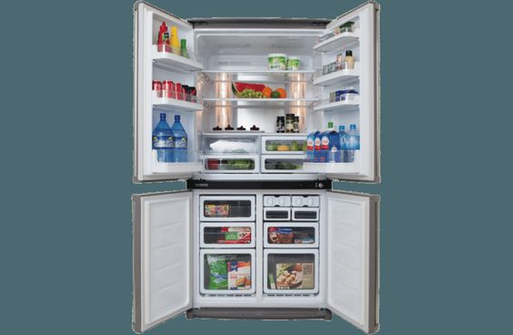 Shop Online For Sharp Sjf676stsl Sharp 676l French Door Refrigerator And More At The Good Guys Find Bargain Buys And Bonus Offers From Aust Home Appliance Store French Door Refrigerator Refrigerator