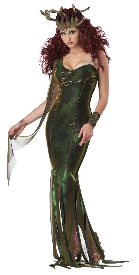 Serpentine goddess medusa costume calgary alberta this seductive