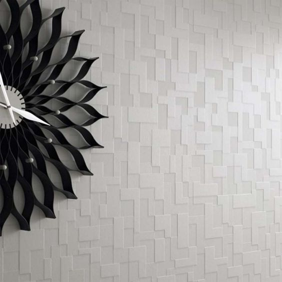 Contemporary wall paper modern wallpaper design1 555x555 for Modern 3d wallpaper texture