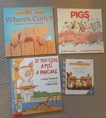 Lots of books on this post that start with Letter P.