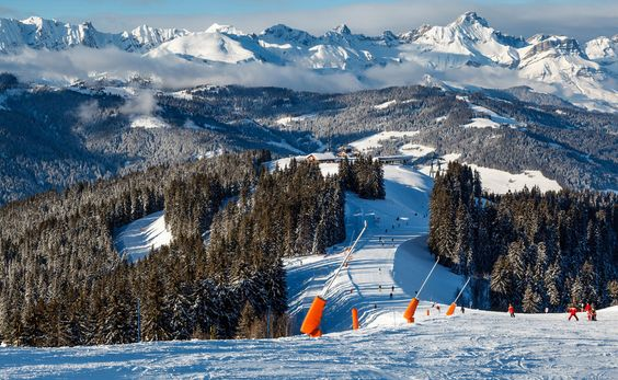 Skiing and Snowboarding in French Alps, Megeve @ www.travahoo.com Go Now Hurry!!!