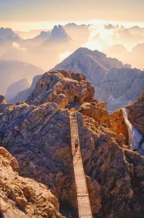 Monte Cristallo, Dolomitas del Trentino, Italia:
