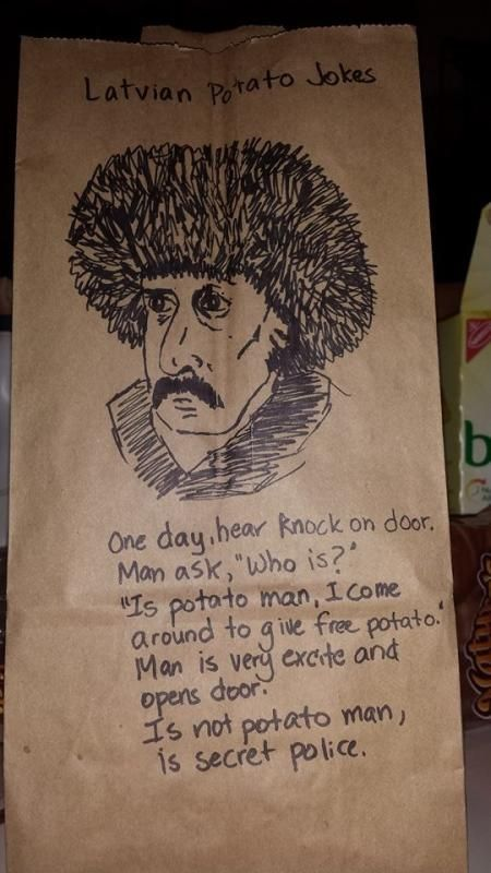 Latvian potato man  // funny pictures - funny photos - funny images - funny pics - funny quotes - #lol #humor #funnypictures
