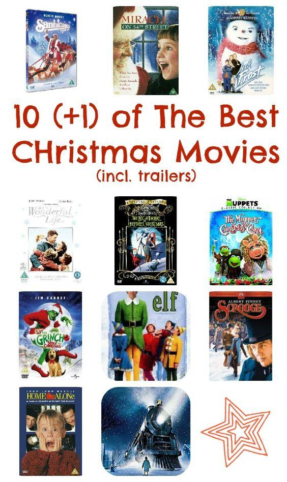 Christmas Movies for all the Family via www.theatrebooksandmovies.com