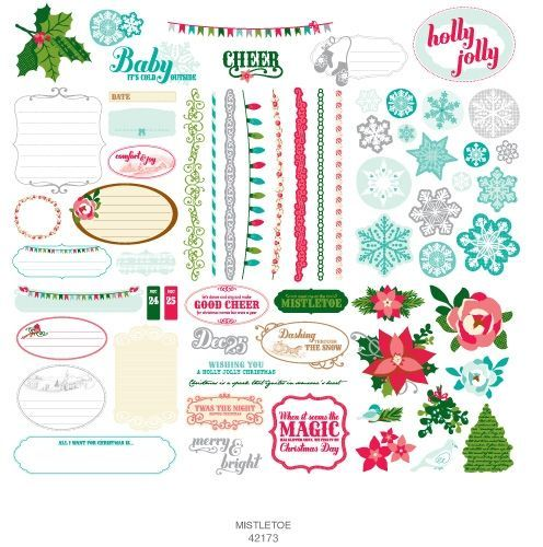 scrapbooking paper and stickers | 92 42173