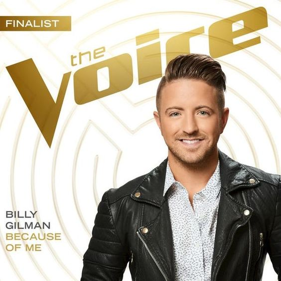 Billy Gilman – Because of Me acapella