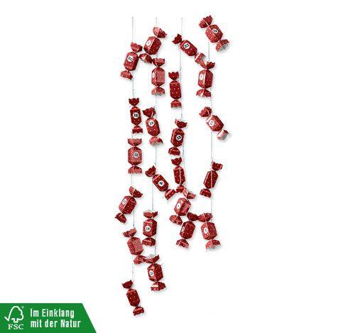Adventskalender-Bastel-Set »Bonbons«