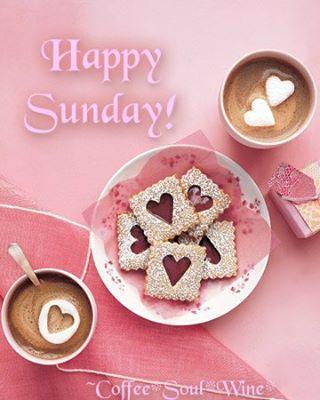 * Happy Sunday coffee