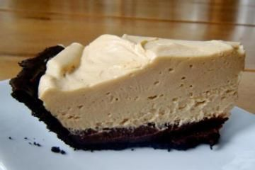 Black-Bottom Peanut Butter Mousse Pie from Yummly | FOOD, glorious ...