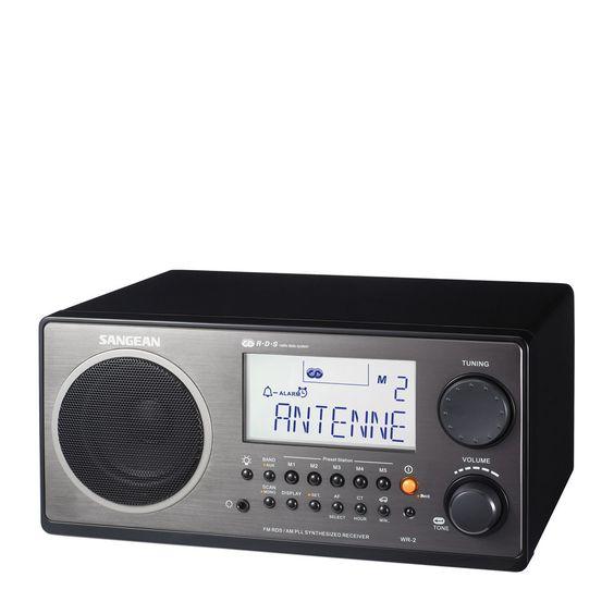 Sangean WR-2 AM/FM Table Radio – NPR Shop