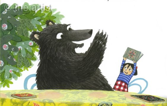 From Bears Don't Read by Emma Chichester Clark