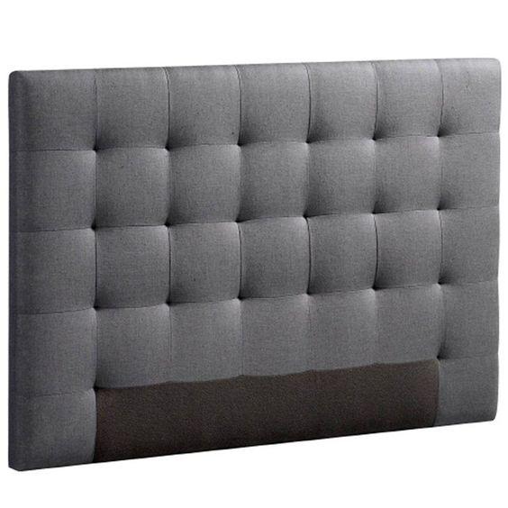 t te de lit capitonn e selve hauteur 100 cm 3 tailles am pm prix avis notation livraison. Black Bedroom Furniture Sets. Home Design Ideas