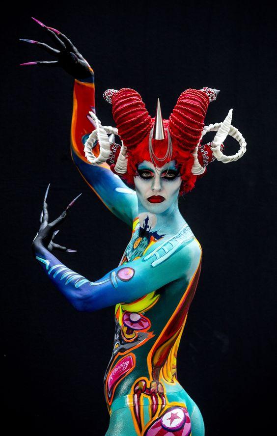 World Bodypainting Festival in Austria: Photos