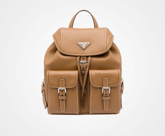 replica prada cosmetic bags - Prada - Backpack - Color: Caramel | Bags | Pinterest | Backpacks ...