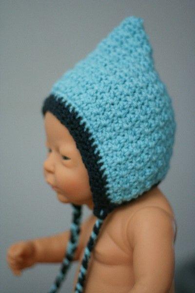 Babyhäubchen *hellblau* http://de.dawanda.com/shop/RorysHandmadeStuff